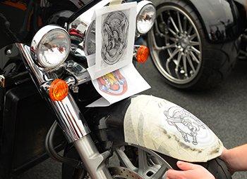 oklejenie motocykla