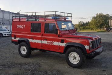 oklejenie Auta Straży Pożarnej