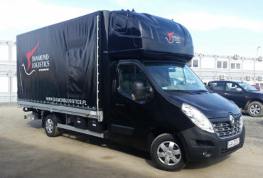 oklejenie Renault - Diamond Logistics