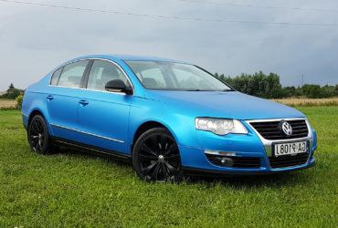 zmiana koloru auta VW Passat