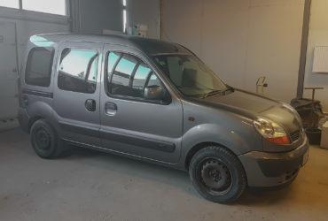 zmiana koloru auta Renault Kangoo