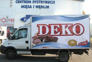 oklejenie reklamowe DEKO 2