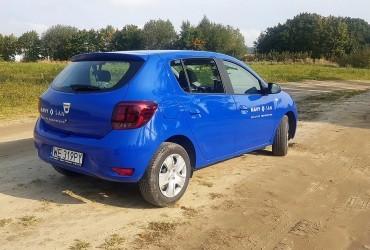 Dacia Sandero zmiana koloru 2