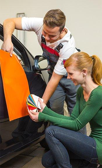 oklejanie auta zmiana koloru